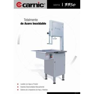 Máquina de Sierra Carnic 3350