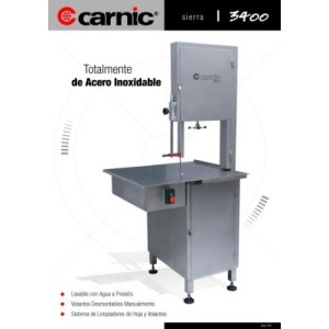 Máquina de Sierra Carnic 3400