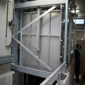 Sistema de aturdido con CO2 para porcino