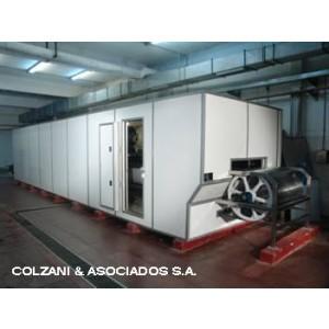 Congelador IQF con cinta transportadora de acero inoxidable