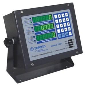 TCCI - Indicador pesador y contador de piezas