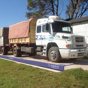 TBC sobrenivel - Báscula camionera