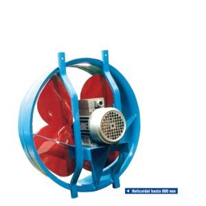 Electroventiladores  Axiales y Helicoidales Sere ABX y ABH