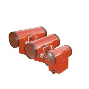 Generador de aire caliente para uso industrial