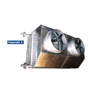 Evaporadores por aire forzado para NH3