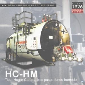 """Caldera de vapor Modelo """"HC-HM"""""""