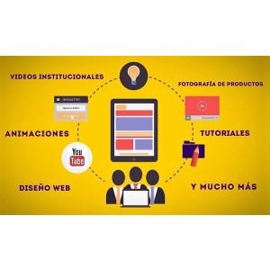 Video de producto o servicio.