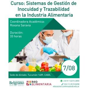 Sistemas de Gestión de Inocuidad y Trazabilidad en la Industria Alimentaria