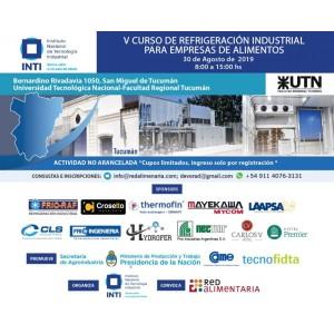 V Curso De Refrigeración Industrial Para Empresas De Alimentos . Tucuman. Argentina
