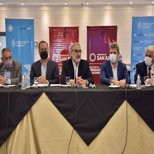 Se realizó en San Juan la primera reunión Regional Cuyo para la elaboración del Plan Ganadero